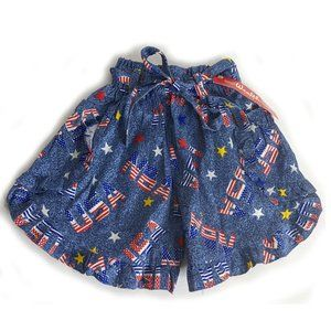 Wealth Paris USA themed print culotte shorts child